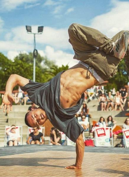 Breakdance am Bodensee mit Sergej Spiridonov
