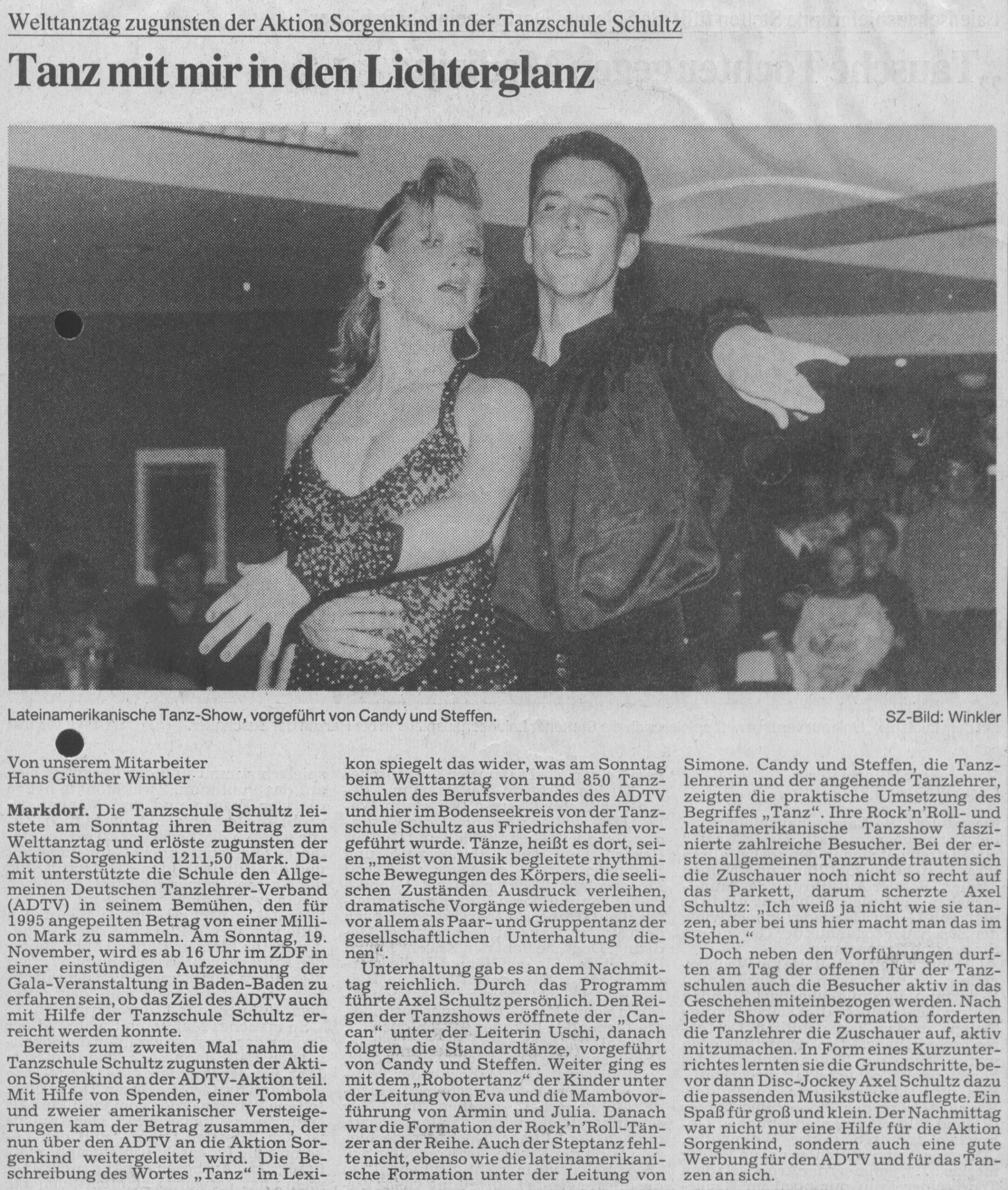 Tanz mit mir in den Lichterglanz 1995