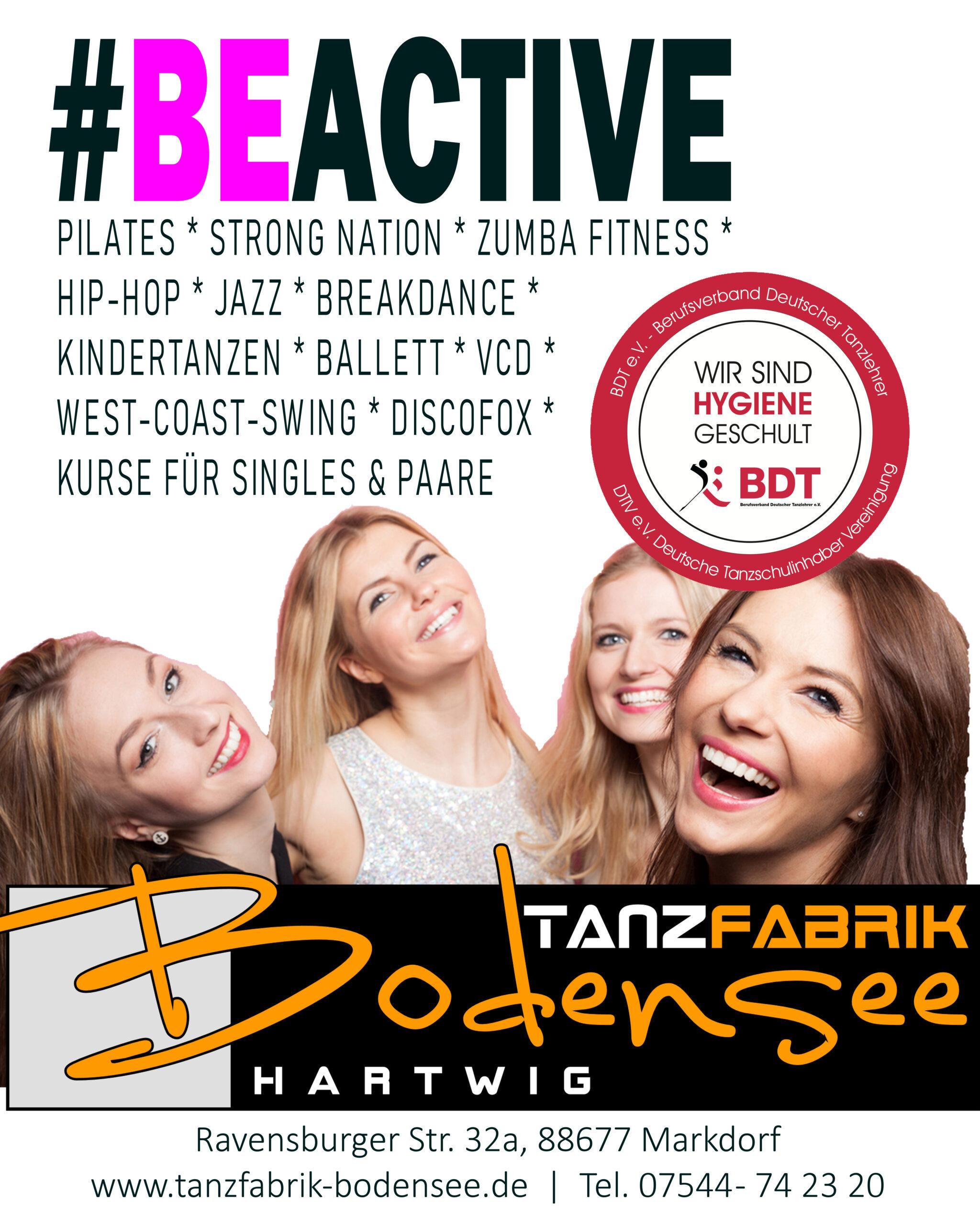 #BEACTIVE / Aktivität / Bewegung