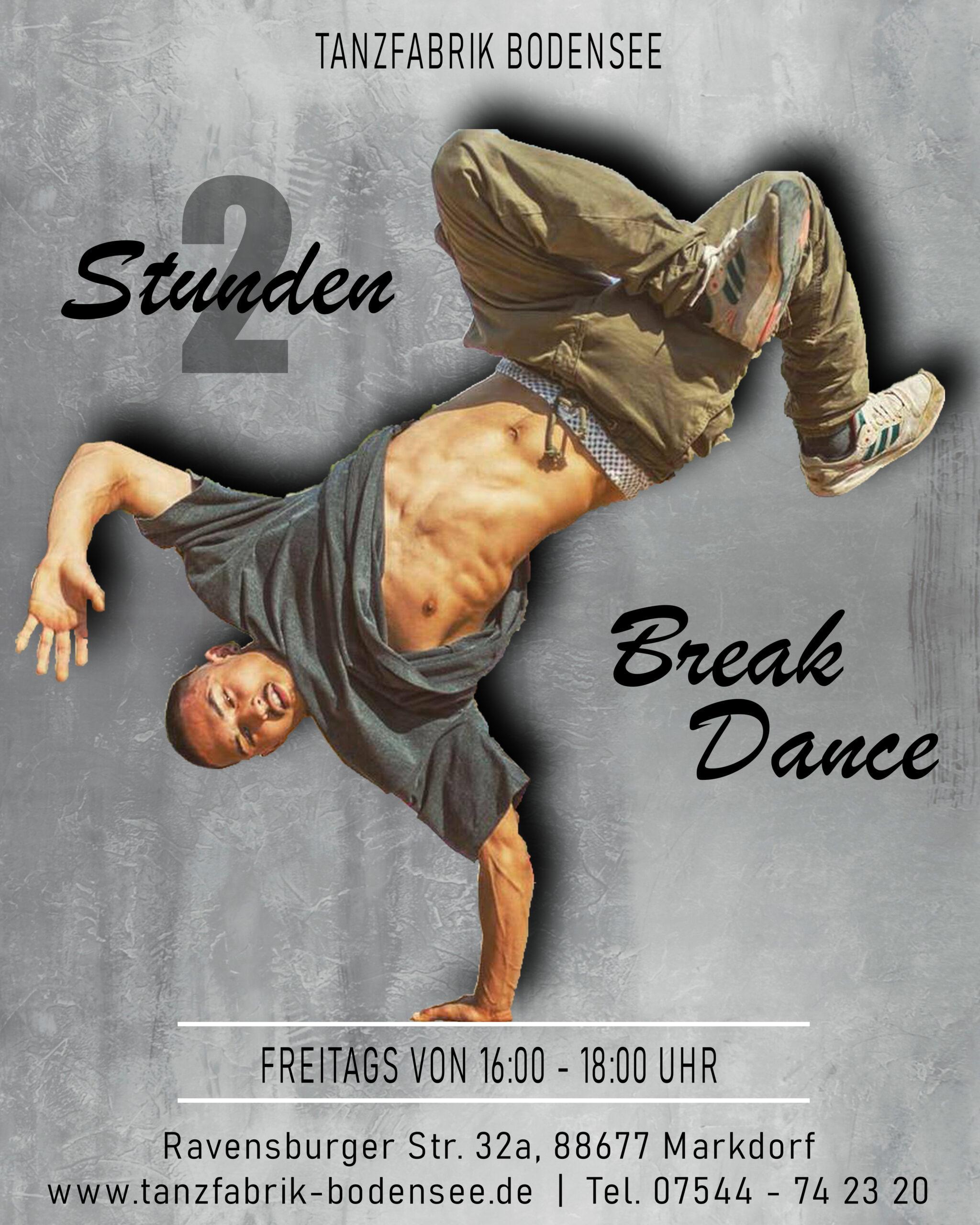 Breakdance am Bodensee