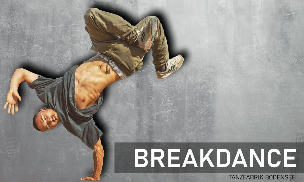 Breakdance in der Tanzfabrik Bodensee