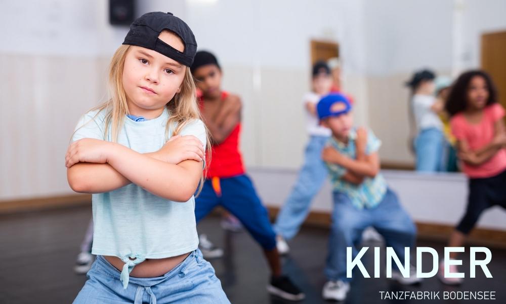 Kindertanz und Ballett in der Tanzschule Tanzfabrik Bodensee