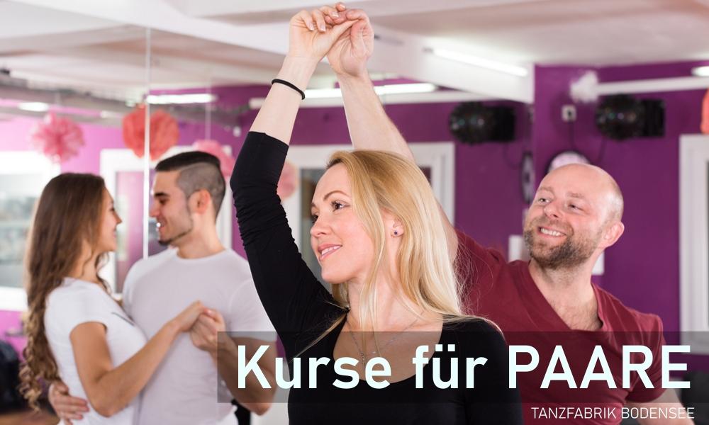 Paarkurse in der Tanzschule Tanzfabrik Bodensee